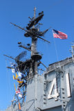 USS Midway, San Diego Stock Image