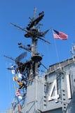 USS Midway, San Diego Stock Image
