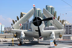 USS Midway, San Diego Stock Images
