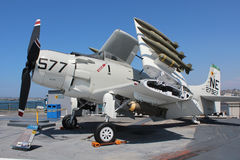 USS Midway, San Diego Royalty Free Stock Images