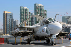 USS Midway, San Diego Royalty Free Stock Photos
