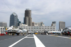 USS Midway, San Diego Stock Photography