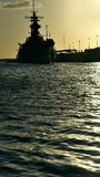 USS Missouri obraz royalty free