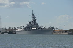 uss missouri Obrazy Royalty Free