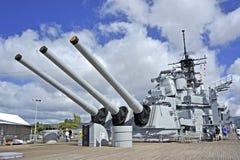 USS Missouri Photographie stock libre de droits