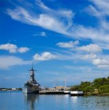 uss missouri obrazy stock