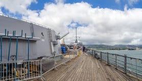 USS Missouri battleship museum Stock Photography