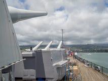 USS Missouri battleship museum Stock Photos