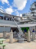 USS Missouri battleship museum Royalty Free Stock Photos