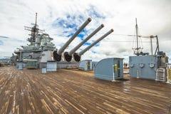 USS Missouri BB-63 Royaltyfri Foto