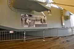 USS Missouri BB-63 ` Mo Możny ` obraz royalty free