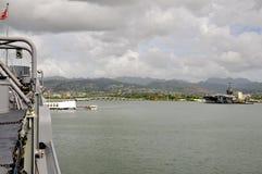 USS Missouri BB-63 Stock Image