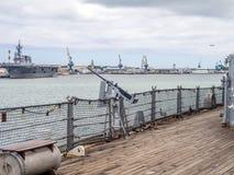 USS Missouri Schlachtschiffmuseum Lizenzfreie Stockbilder