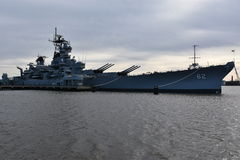 USS New Jersey BB-62 in Camden, New Jersey Stock Photography