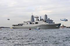 USS New York Stock Photography