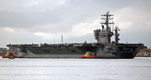 The USS Nimitz Stock Photo