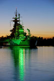 USS North Carolina Stock Photo