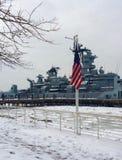 USS Nowy - bydło Obraz Royalty Free