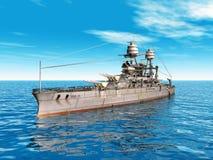 USS o Arizona ilustração royalty free