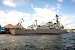 USS Oscar Austin Royalty Free Stock Image