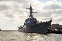 USS Oscar Austin Stock Photography
