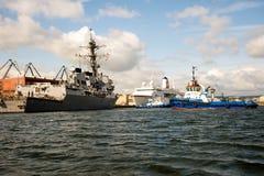USS Oscar Austin Stock Images