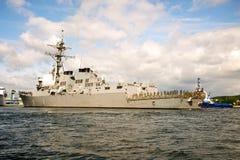 USS Oscar Austin Stock Image