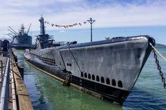 USS Pampanito Stockfotos