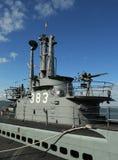 USS Pampanito diesel-electric submarine in Fisherman's Wharf , San Francisco Royalty Free Stock Photo