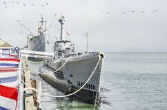 Free USS Pampanito SS-383, San Francisco Bay Royalty Free Stock Photography - 184173877