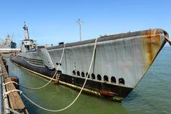 USS Pampanito (SS-383), San Francisco, EUA foto de stock