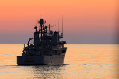 USS prevale Immagine Stock