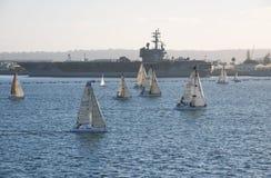 USS Ronald Reagan Obraz Stock
