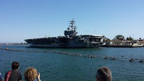 USS Ronald Regan Stock Photo