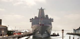 USS San Diego a commissionné Photographie stock