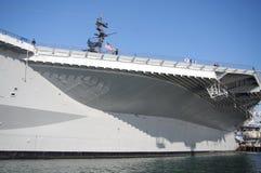 USS situado a mitad del camino Fotografía de archivo
