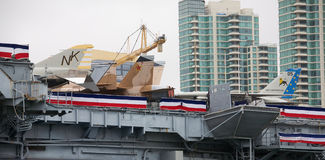 USS situado a mitad del camino Fotografía de archivo libre de regalías