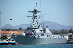 USS Spruance Royalty Free Stock Images