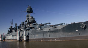 USS Texas Royalty Free Stock Photography