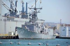 USS Vandegrift Immagini Stock Libere da Diritti