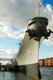 USS Wisconsin, Fotos de archivo libres de regalías