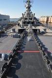 USS Wisconsin Stock Photography