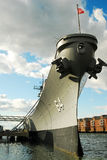 USS Wisconsin, Royalty Free Stock Photos