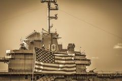 USS Yorktown arkivbilder
