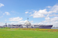 USS Yorktown 图库摄影