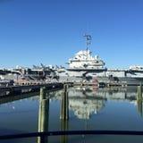 USS Yorktown Fotografie Stock