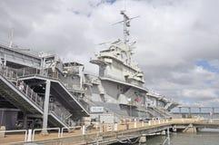 USS Yorktown CV10: Управление моста & корабля Стоковая Фотография RF