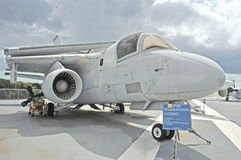 Uss Yorktown: Lockheed s-3B Viking Stock Foto