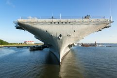 USS Yorktown Royalty Free Stock Photo