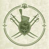 Ussaro emblem-1 Fotografia Stock